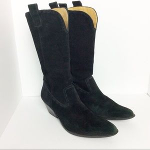 3 for $15 I Gianni Bini black suede boots
